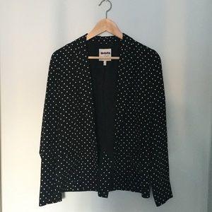 Joie Silk polka dot jacket/blazer